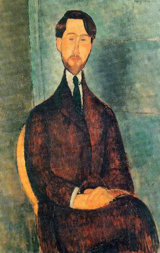 Modigliani - Portrait of Leopold Zborowski [2]